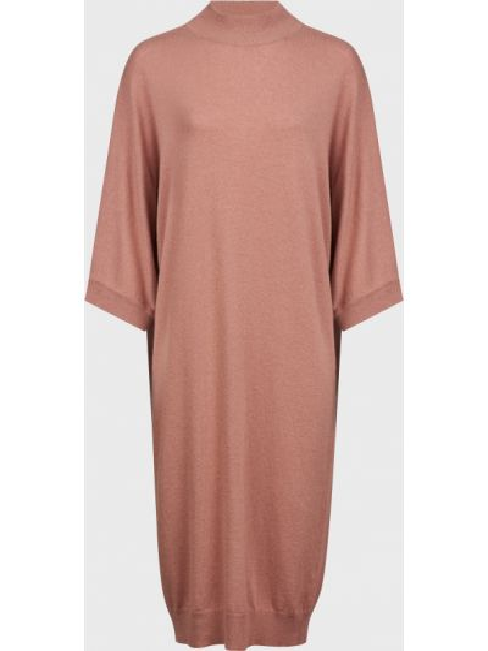 Шерстяное розовое платье Kontatto