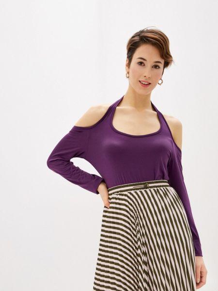 Блузка с длинным рукавом бордовый весенний Marissimo