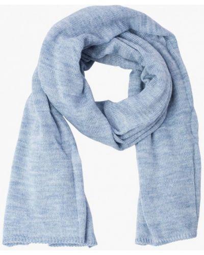 Голубой шарф осенний Fomas