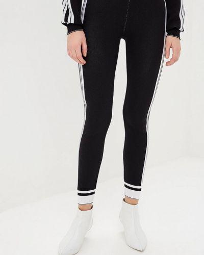 Спортивные брюки итальянский черные Miss Miss By Valentina