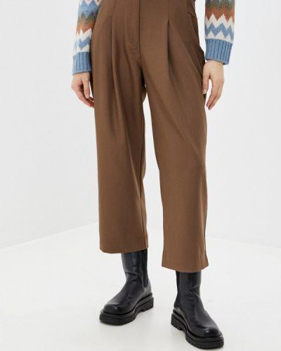 Повседневные коричневые брюки You&you