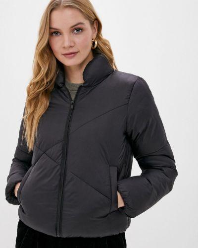 Теплая черная куртка Jacqueline De Yong