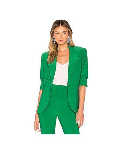 Куртка трапеция зеленая Norma Kamali