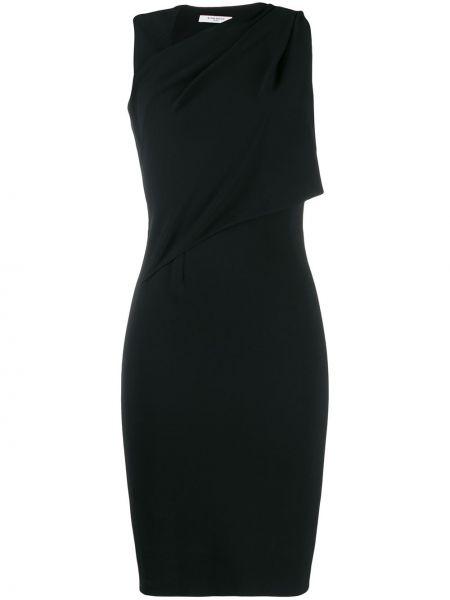 Приталенное платье винтажное с драпировкой без рукавов Givenchy Pre-owned
