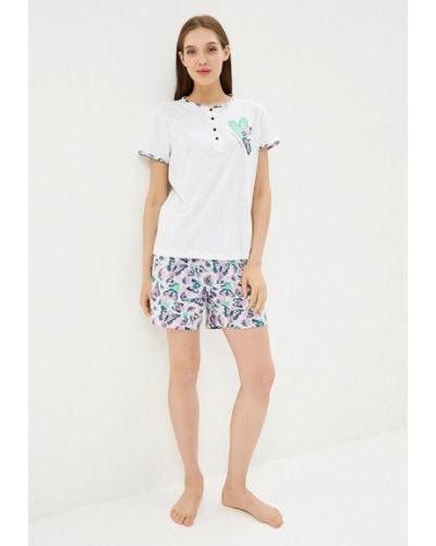 Пижама белая пижамный Kinanit