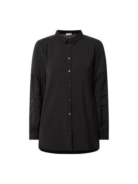 Czarna bluzka z długimi rękawami Ichi