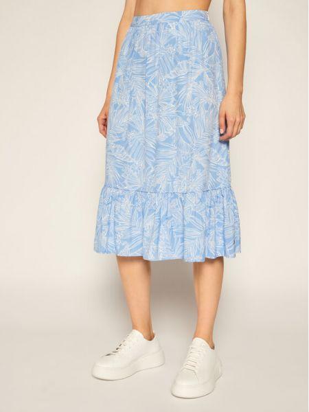 Niebieska spódnica Tommy Hilfiger