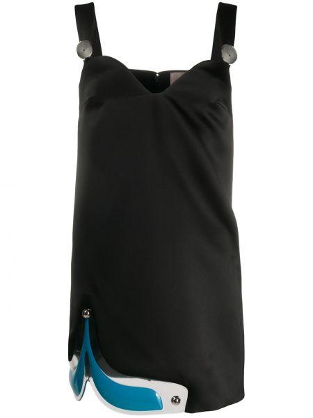 Sukienka mini czarny Christopher Kane