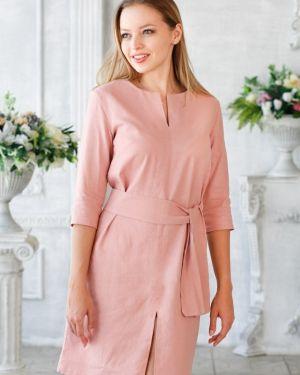 Летнее платье миди с поясом Victoria Filippova
