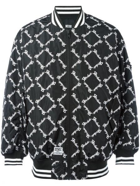 Черная куртка Ktz