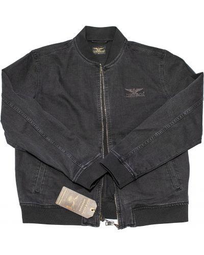 Джинсовая куртка классическая - черная Montana