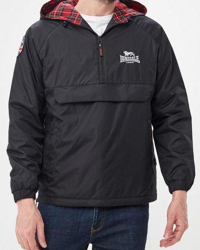 Утепленная куртка черная Lonsdale