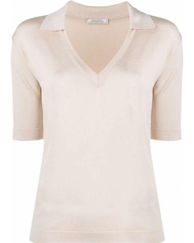 Рубашка с короткими рукавами с воротником с вырезом Nina Ricci