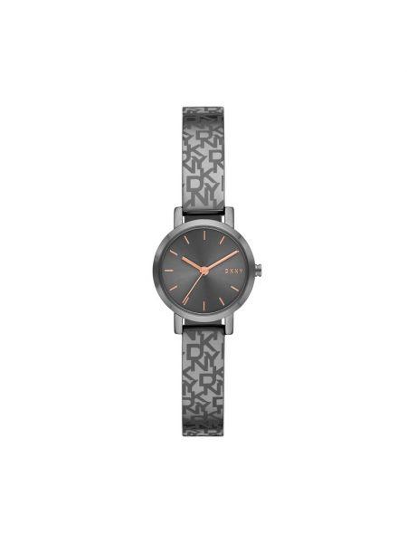Szary zegarek Dkny