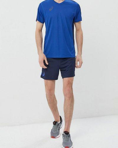 Спортивный костюм синий Asics