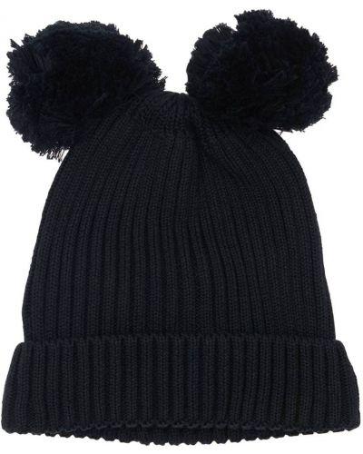 Хлопковая шапка - черная Mini Rodini