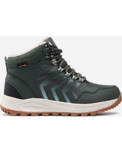 Ботинки трекинговые - зеленые Sprandi