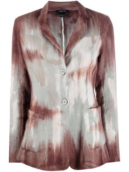 Кашемировый пиджак с карманами на пуговицах Avant Toi