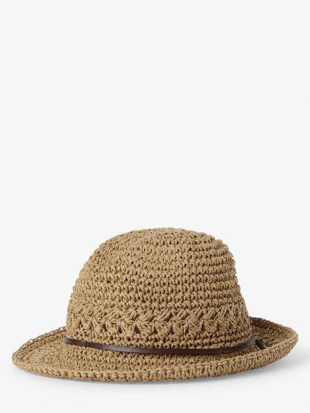 Beżowy czapka beanie Loevenich