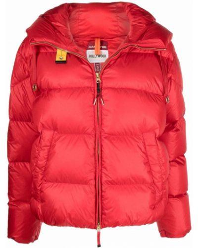 Куртка с капюшоном - красная Parajumpers