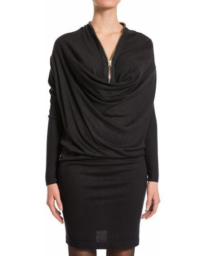 Шерстяное платье - черное Hotel Particulier