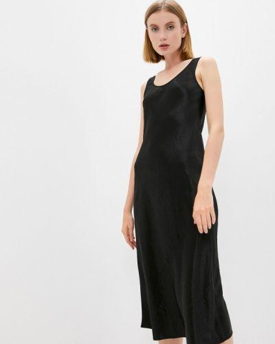 Черное платье-комбинация Max Mara Leisure