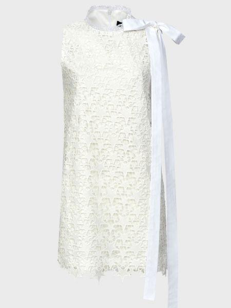 Хлопковое платье - белое Frankie Morello