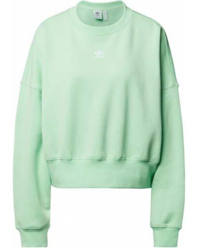 Zielona bluza bawełniana Adidas Originals