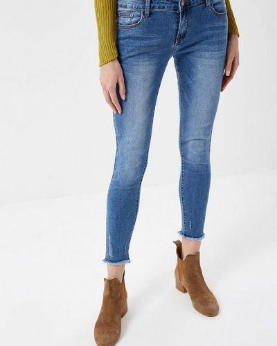 Синие джинсы-скинни Glamorous