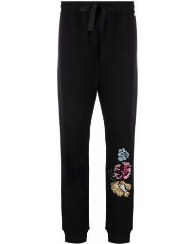 Спортивные брюки из полиэстера - черные Blugirl
