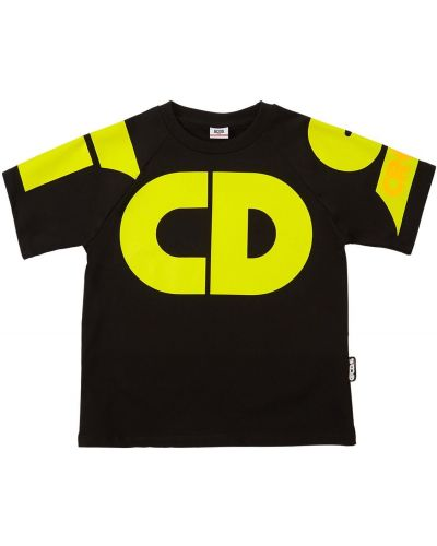 Bawełna z rękawami bawełna czarny koszula Gcds