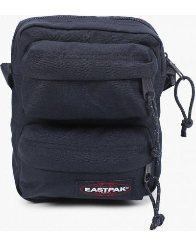 Синяя текстильная сумка через плечо Eastpak