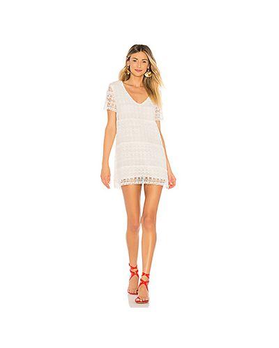 Платье мини с вышивкой с бахромой Tularosa