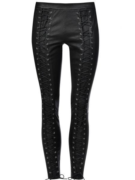 Хлопковые брюки - черные Zoe Karssen