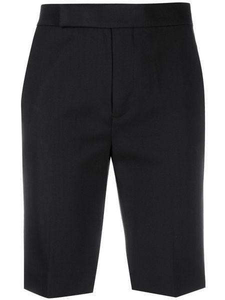 Шерстяные черные шорты Mrz