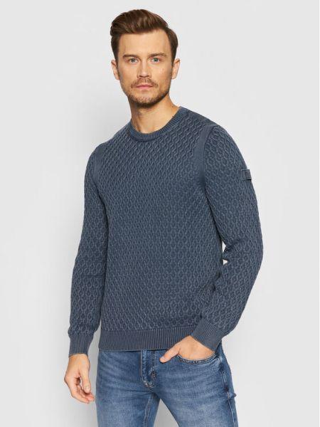 Sweter - niebieski Joop! Jeans