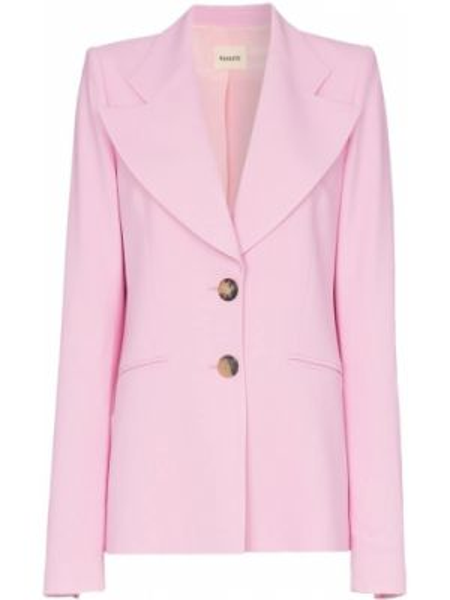 Розовый пиджак Khaite