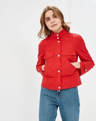 Куртка весенняя красная United Colors Of Benetton