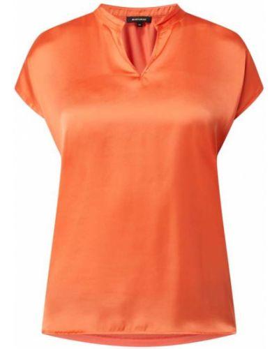 Bluzka z wiskozy - pomarańczowa More & More