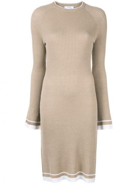 Льняное пляжное платье с рукавом реглан Venroy