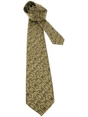 Желтый галстук Pierre Cardin Pre-owned