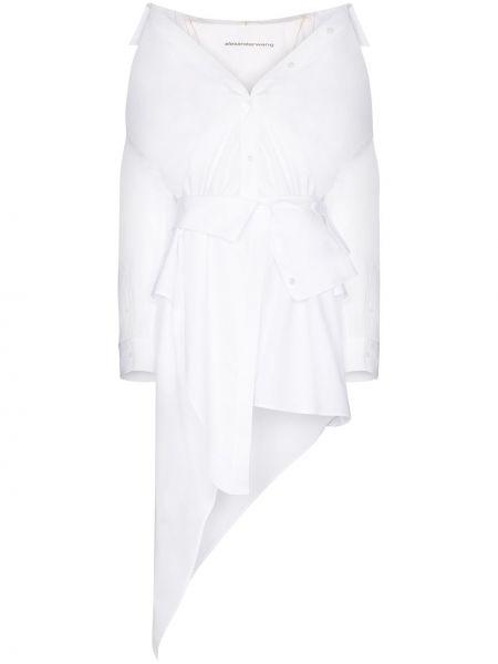Bawełna bawełna biały sukienka Alexander Wang