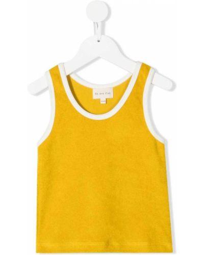 Żółta kamizelka bez rękawów materiałowa We Are Kids