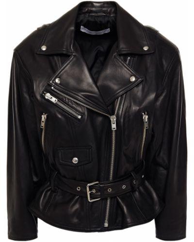 Кожаная куртка - черная Iro