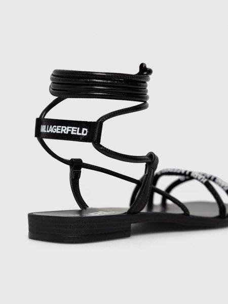 Кожаные сандалии Karl Lagerfeld