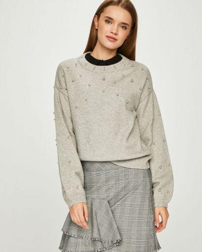 Вязаный свитер в полоску с узором Vero Moda