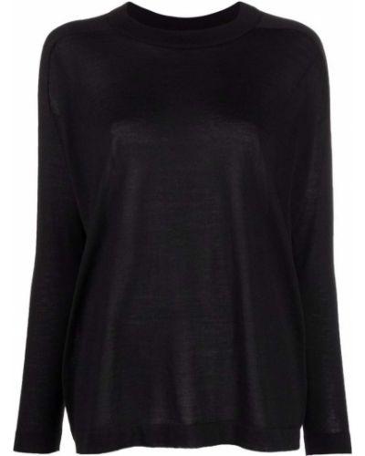 Черная кашемировая свитер Malo