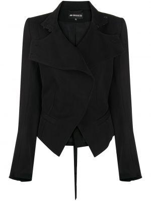 Шерстяной пиджак - черный Ann Demeulemeester