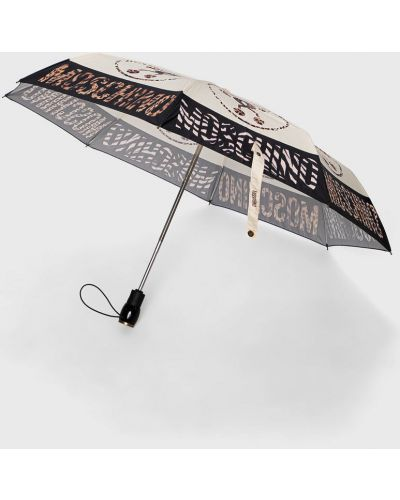 Beżowy parasol Moschino