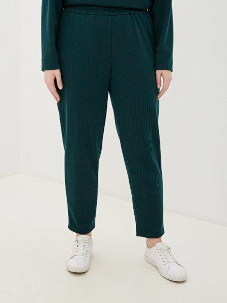Зеленые брюки узкого кроя Gorda Bella
